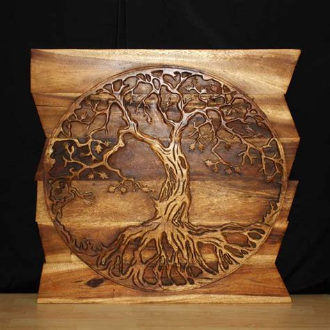 wall decor nature carved wood photo gallery kan thai decor