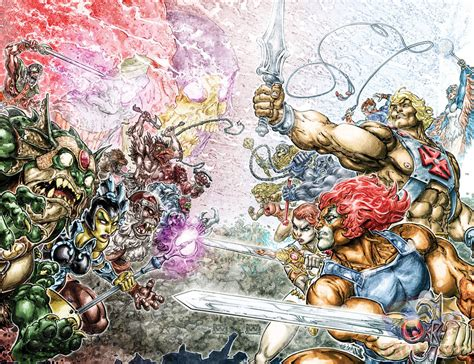 Dc Comics He Thunder Cats 4 March 2017 he and thundercats will crossover in new comic series for dc geektyrant