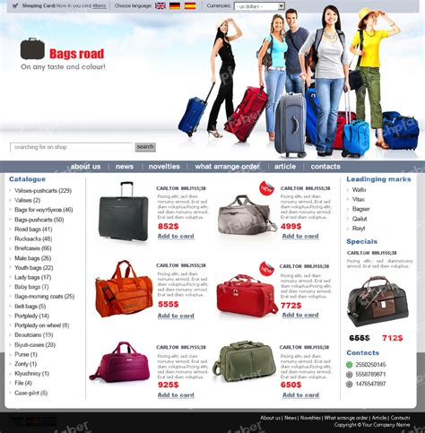 ecommerce site template 14 free ecommerce templates photo gallery images e