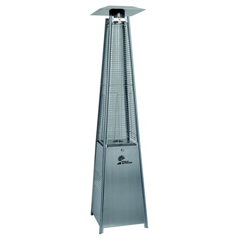 Palm Springs Outdoor Pyramid Quartz Glass Tube Dancing Patio Heater Glass