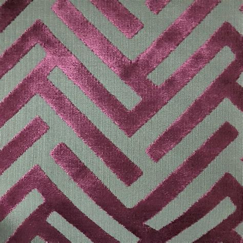 upholstery fabric and supplies ministry geometric pattern cut velvet upholstery fabric