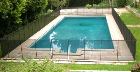 diy mesh pool fence how to clean your mesh pool fence childguard diy pool fence