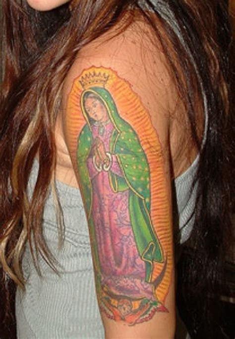 praying mary tattoo designs 53 graceful shoulder tattoos