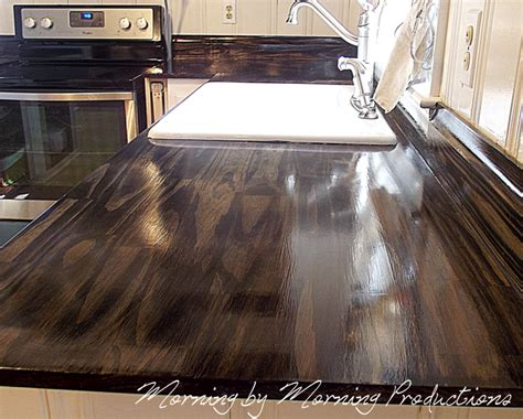diy kitchen countertops morning by morning productions diy kitchen countertops