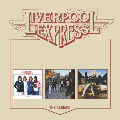 express liverpool liverpool express the albums 3cd box set cherry