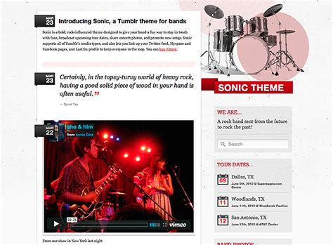 tumblr themes free bands the 12 best free and premium band tumblr themes the new