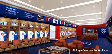 Cubs Locker Room by Wrigley Renderings Cubs Locker Room Proposed Wrigley