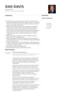 Resume Director Of Engineering Diretor De Engenharia Exemplo Cv Visualcv Retomar
