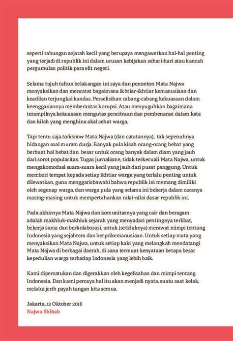 Catatan Najwa Non Ttd Oleh Najwa Shihab jual buku catatan najwa oleh najwa shihab gramedia