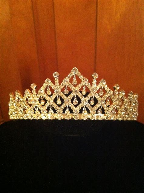 Sparkling Beautiful Crystal Tiara   Beautiful, Quinceanera