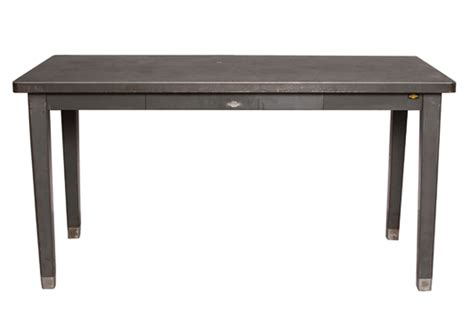 The Table by Metal Table With Drawer Omero Home