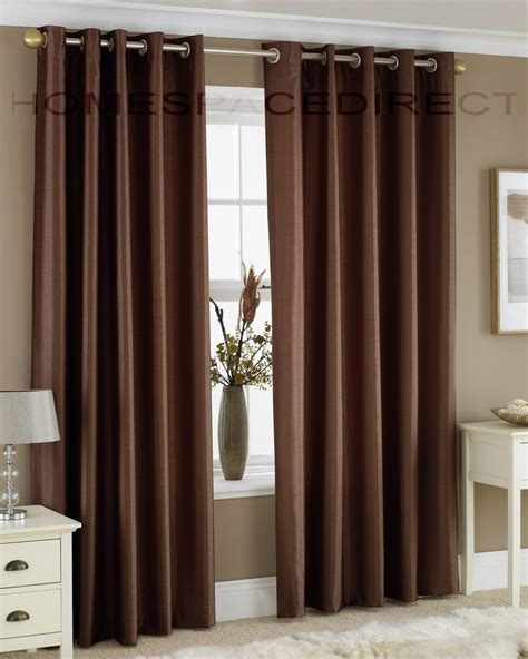 Brown Curtains For Bedroom Brown Curtains For The Bedroom To Tie In The Blue And