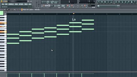 tutorial piano fl studio tutorial fl studio 12 como formar acordes doovi