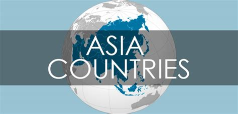 countries  asia   continents   world