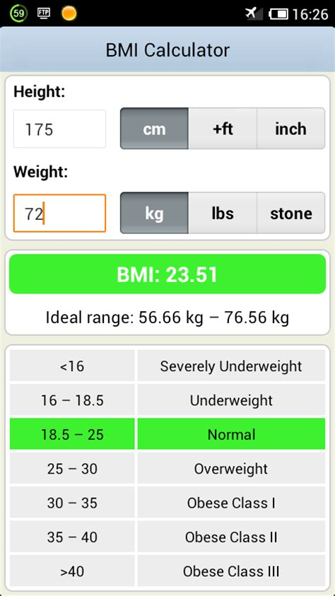 calculator bmi online bmi calculator android apps on google play