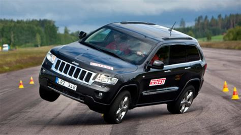 2012 Jeep Grand Lifted A Jeep Grand Fail Sweden S Moose Test