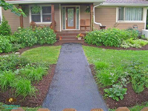 warrenville project welcoming front yard shade garden