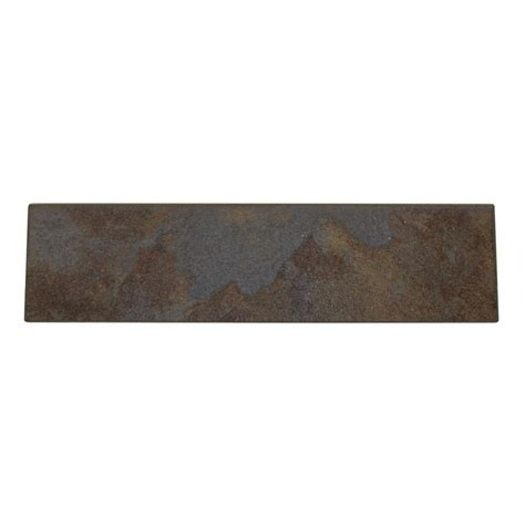 Tuscan Style Home Decor Daltile Continental Slate Tuscan Blue 3 In X 12 In