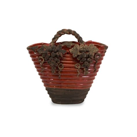 imax 50225 chateau basket vase home furnishings