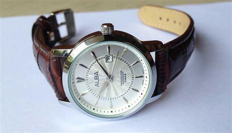 jam tangan alba kulit al02 toko grosir jual jam tangan murah kw