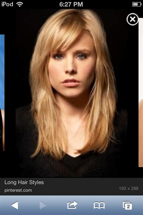 kristen bell bangs 2016 kristen bell with bangs new style for 2016 2017