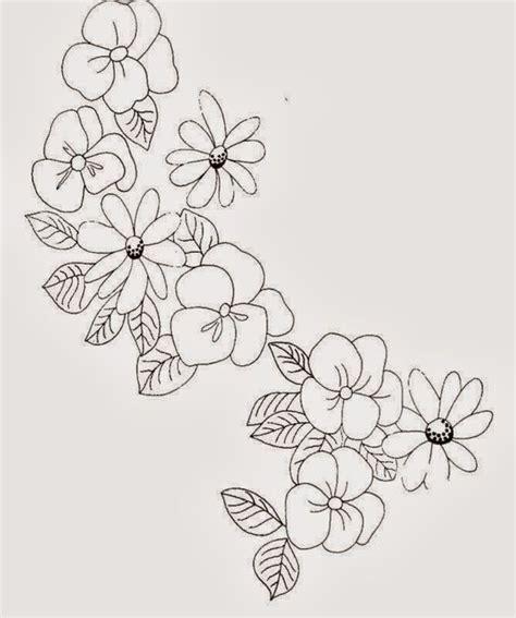 dibujos para bordar gratis imagenes para bordar ramas de flores patrones para