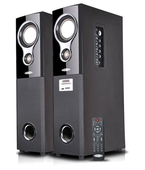 buy oscar osc 16600bt 2 0 tower speakers with bluetooth