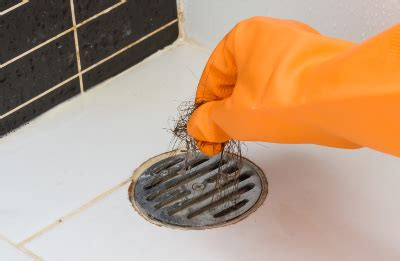 hair clogging bathtub drain how to unclog a bathtub drain with standing water
