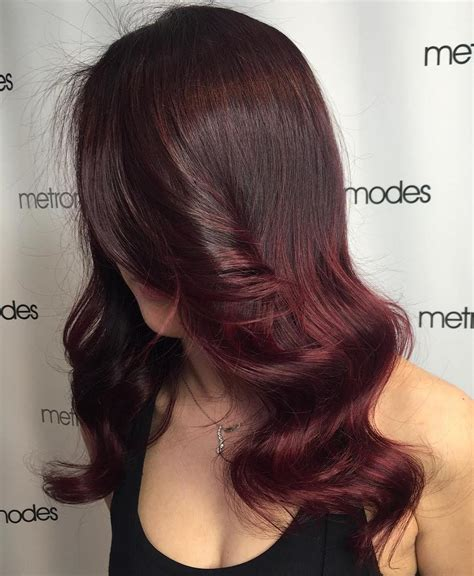 burgundy brown hair color 50 shades of burgundy hair burgundy maroon