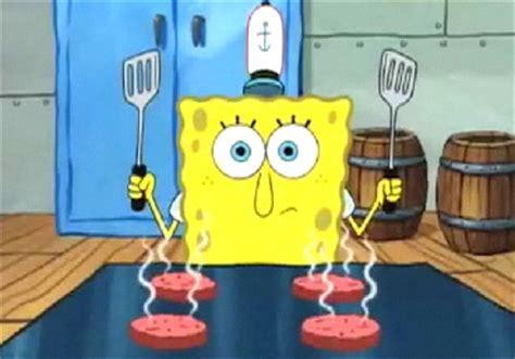 image gallery spongebob cooking
