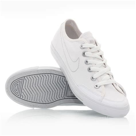 nike go canvas 100 womens casual shoes white