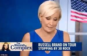 Msnbc Female Anchor Fired   russell brand runs rings around msnbc hosts for trying to