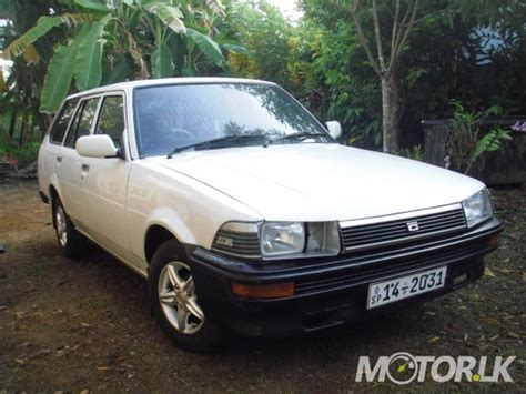 1985 toyota corolla wagon 1985 toyota corolla wagon dx k72 suv for sale in galle
