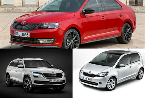 upcoming skoda cars in india in the year 2017 18