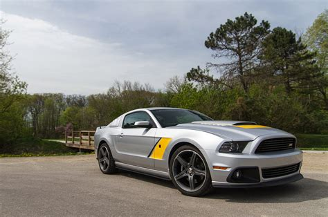 Rausch Ford Mustang by Gallery Roush Presents The 2014 Stage 3 Mustang In Silver