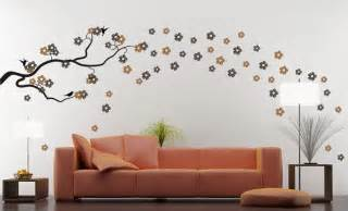 Designer Wall Stickers work silhouettes around your furniture for a look that flows