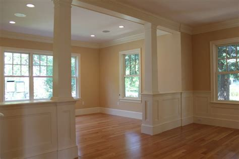 Interior Finishes by Interior Finish Carpentry Traditional Living Room