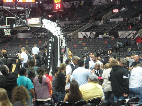 at section 101 at t center section 101 san antonio spurs