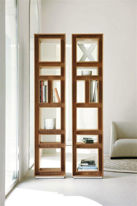Modern Book Rack Designs by Estanter 237 As De Madera O Cristal Para Salones De Dise 241 O