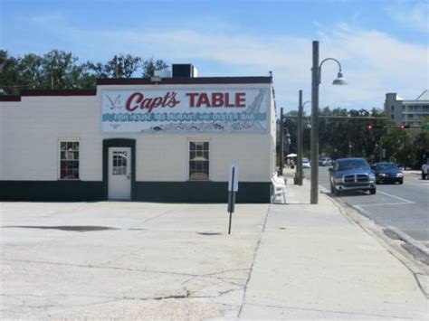 Captains Table City by Captains Table Fish House Restaurant Oyster Bar Panama City Menu Prices Restaurant