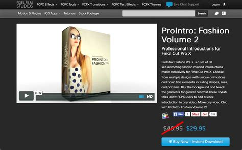 final cut pro unsupported volume type prointro fashion volume 2 was released by pixel film studios
