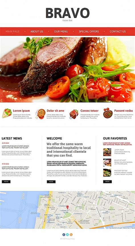 tapas menu template images