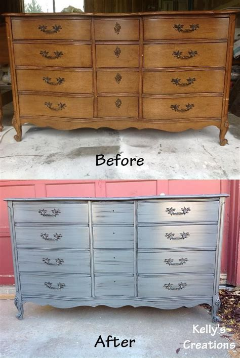 Refinished Dressers Before And After by 1000 Images About Refinished Provincial On