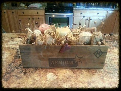 Kitchen Island Centerpieces by Kitchen Island Centerpiece Primitive Decor Centerpieces