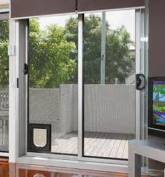 why you need the cat door for sliding glass door poes
