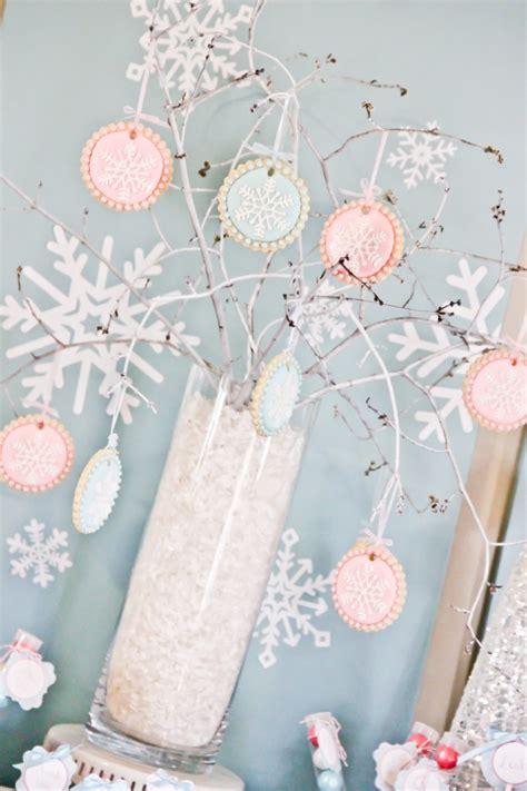 winter 1st birthday centerpieces winter 1st birthday project nursery