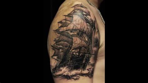 sail ship tattoo by pit fun fun 07 11 2014 youtube