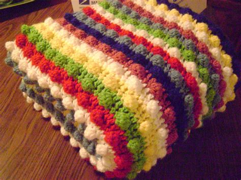 free crochet patterns free crochet pattern the blackberry salad striped afghan
