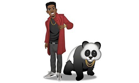 panda styles complete remix desiigner desiigner gets his own emoji pack featuring kanye pandas