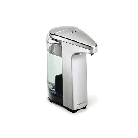 simplehuman compact sensor soap pump dispenser things4myhome com